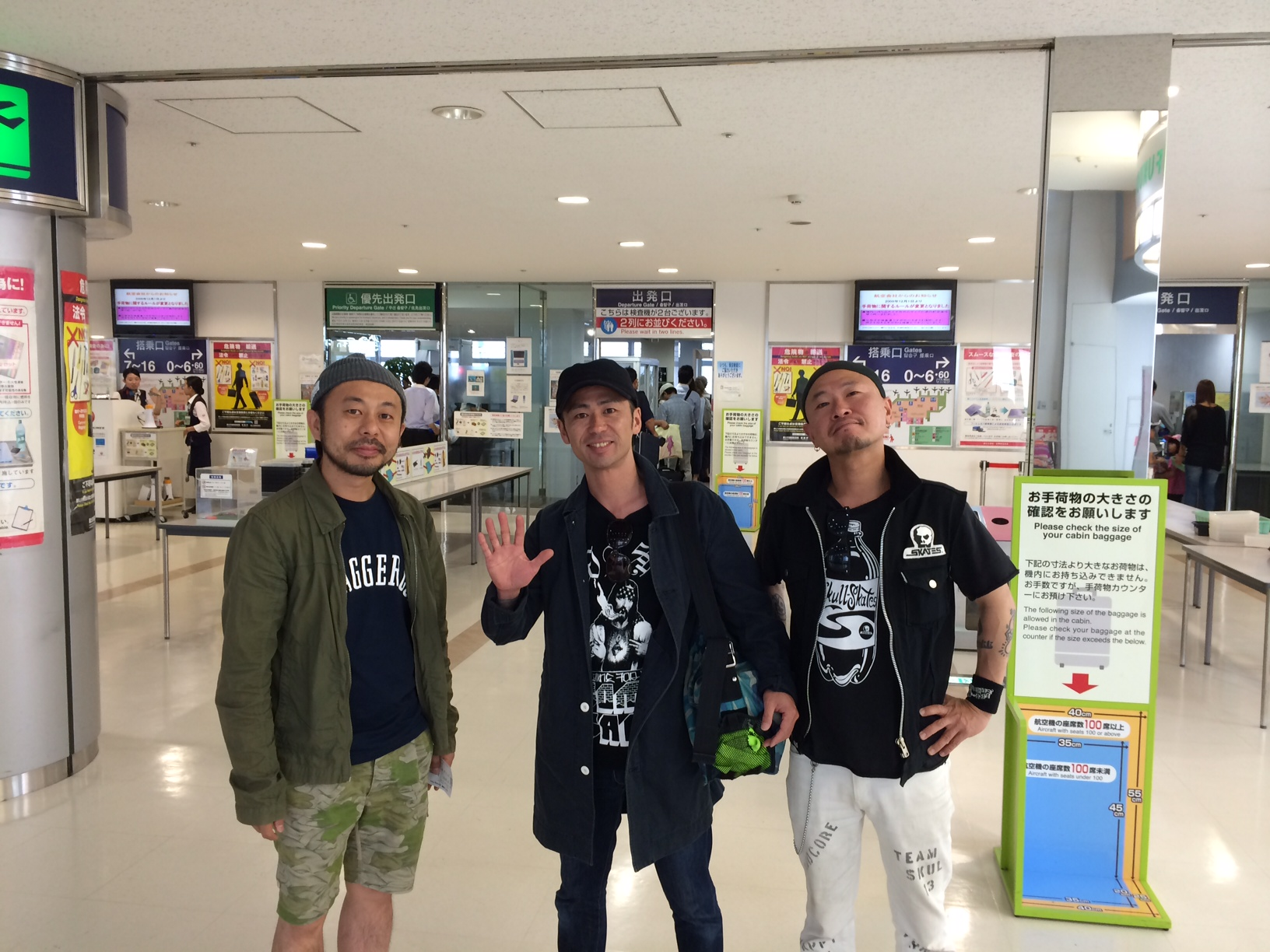 COKEHEAD HIPSTERS Tour in Fuckoka 終了!