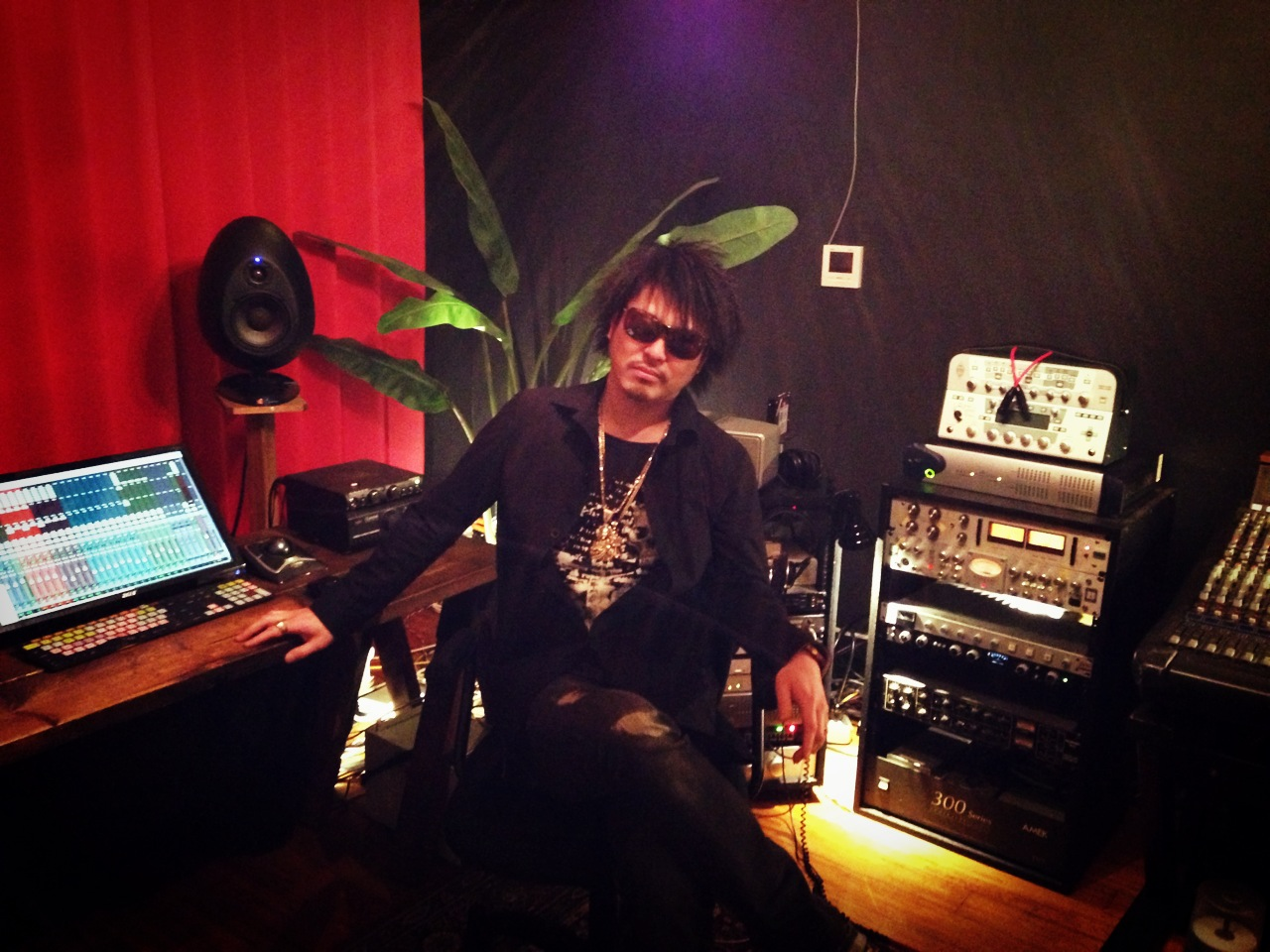 ZANG HAOZI レコーディング開始!