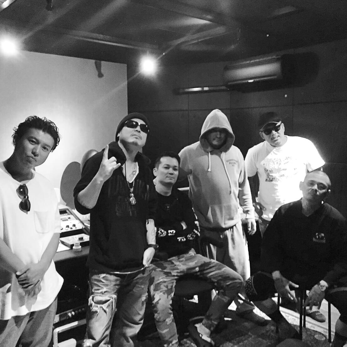 SHITAKILI IX レコーディング