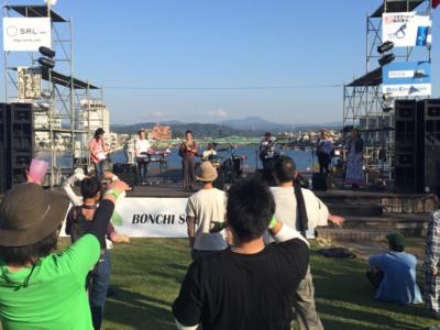 野外音楽イベント BSP 1000人クラス音響