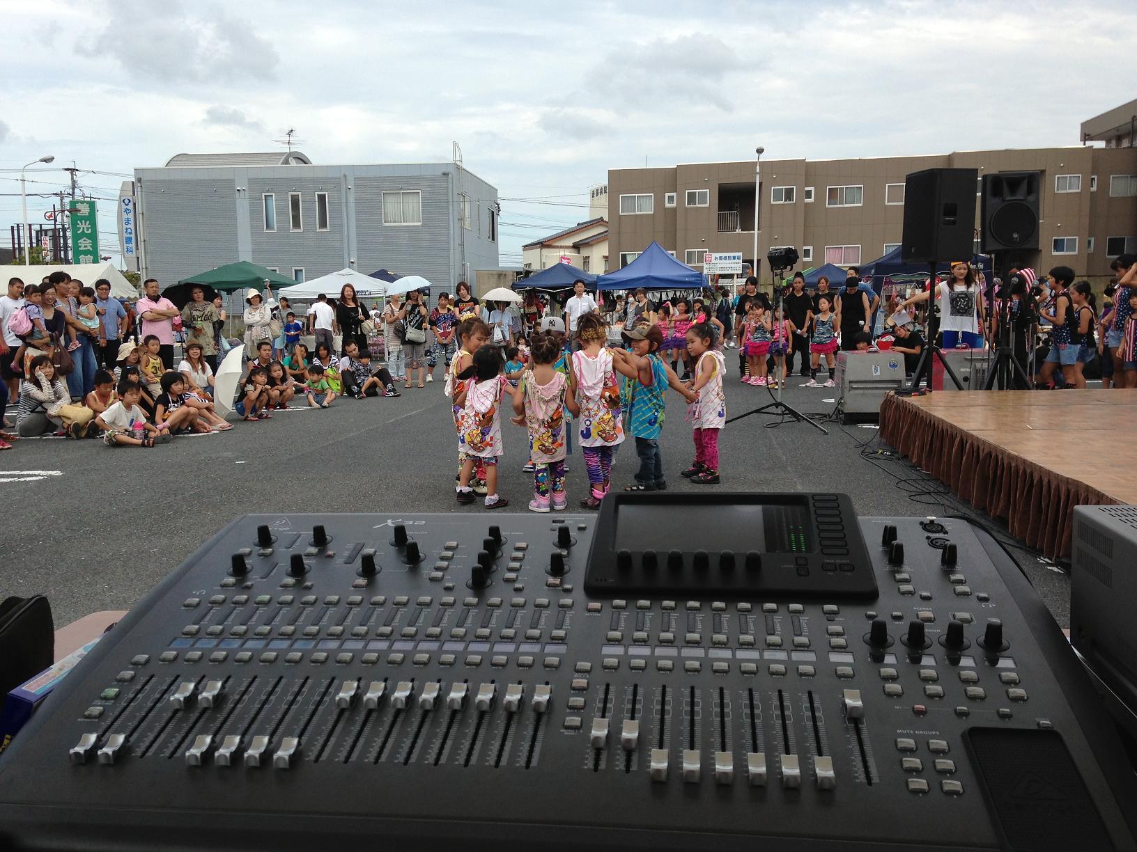 夏祭り音響 2013夏