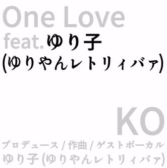 KO<br> 'One Love feat ゆりやんレトリィバァ'