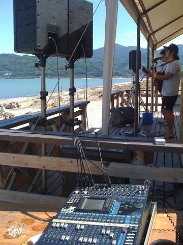 アコースティックライブ音響 2012夏